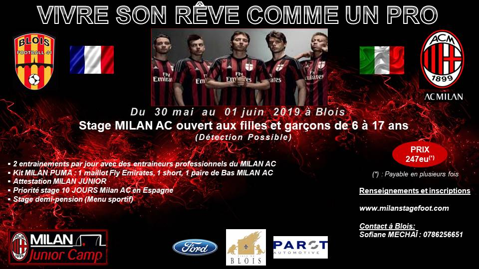 Stage de foot MILAN AC