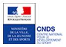 Logo du Centre National pour le Développement du Sport
