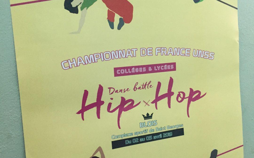 Championnat de France UNSS battle de hip hop