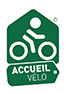 Logo d'accueil vélo'