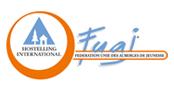 Logo de la Fédération Unie des Auberges de Jeunesse